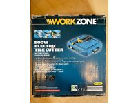 Workzone 500w electric tile cutter