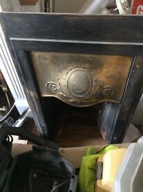 Antique Fire Place
