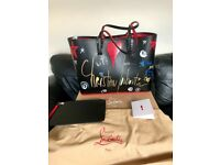 Christian Louboutin cabata loubi tag handbag, very rare, sold out in seconds