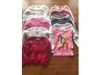 Girls jumpers and tops