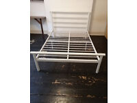 Double Bed Frame - White