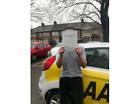 Driving lesson Intensive course 5 hours plus Test £120