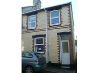 3 bed terraced house central Newton Abbot