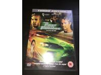 Fast and furious 1 DVD