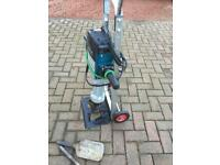 Bosch GSH27 110v heavy duty breaker including chisels and trolley