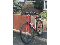 OFFERS OR SWAPS RESTORED RALEIGH RACER BIKE