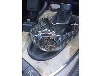 Rolex 18k white gold Daytona cosmograph black dial