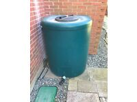Garden water butt, water pump ,timer, valve system by ecosure