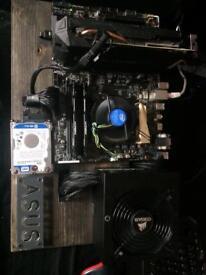 Gaming PC GTX 1060, 8GB RAM DDR4 2400, i3 6300