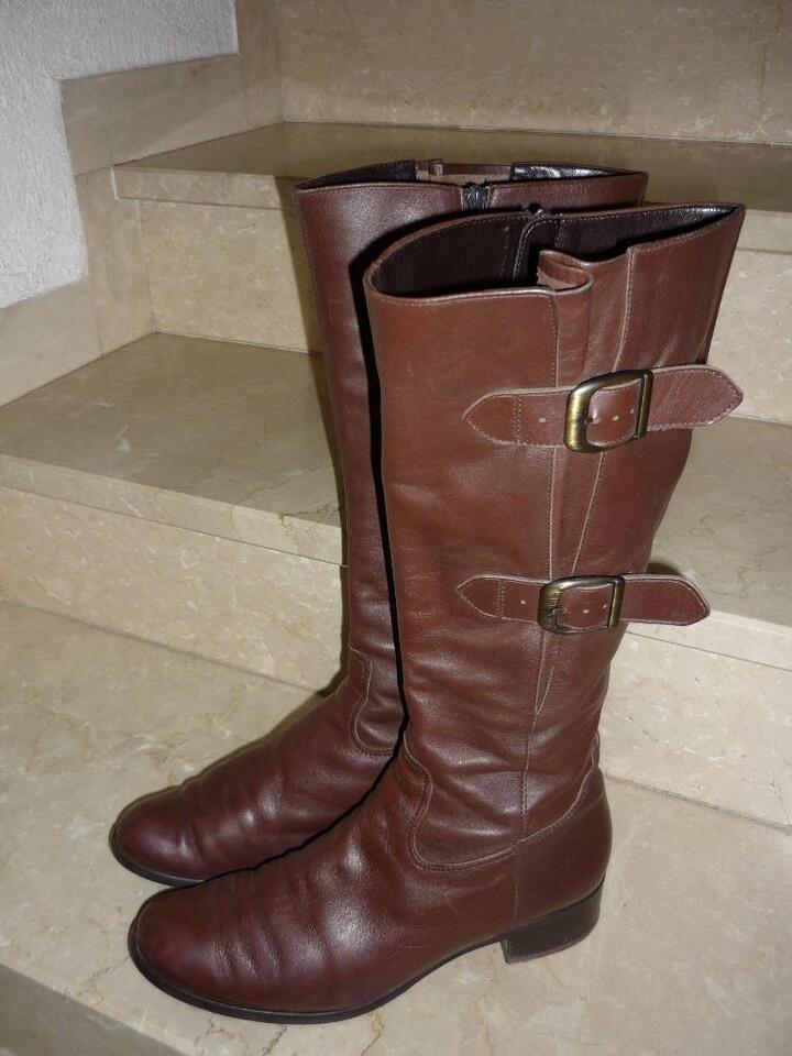 Stiefel von Gabor mit extra weitem Schaft m. Gummizug
