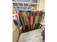 HALVED Rug, flatwoven, handmade multicolour IKEA MILTON KEYNES #bargaincorner