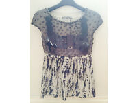 Designer Iceberg ladies top size 40 extra small (size 8 uk)