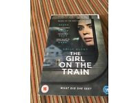 Girl on the train DVD. Unopened in cellophane