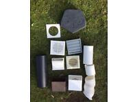 Assorted Ventilation kit parts