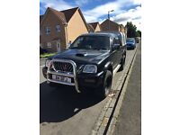 L200 warrior, private plate, rally art chip, Ifor Willian's box, 4x4 4WD