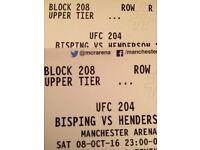 Bisping vs Henderson