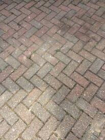 Driveway paving bricks