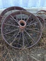 Steel Wagon Wheels