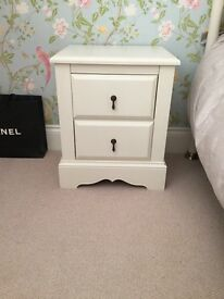 2 x Next Isabella bedside drawers
