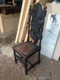 Antique chair stunning