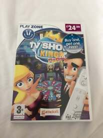 TV Show King Party Wii game