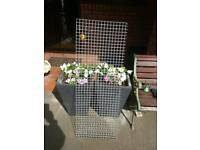 Heavy garden steel mesh galvanised