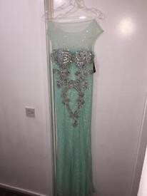 Mint green brand new dress with tag