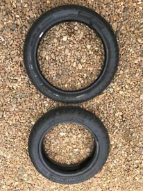 Pit bike road tyres new