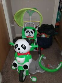 Toddler tricycle
