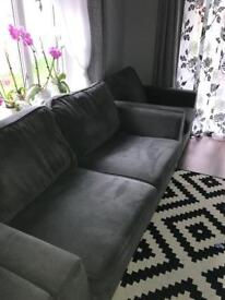 DFS sofa and 2 armchairs