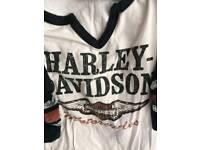 HARLEY DAVIDSON SHIRTS & T SHIRT SIZES M/L