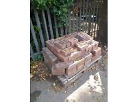 red bricks (vintage effect)