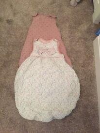 0-6 mamas and papas sleeping bags x2