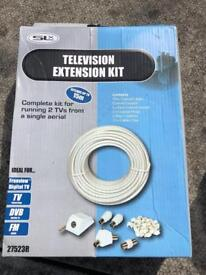 Television extension kit