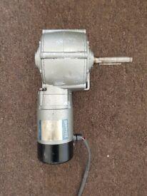 24v parvalux motor