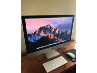 iMac 27 inch late 2017 as new