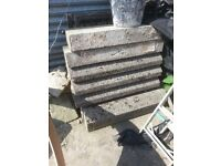 x8 Concrete kerbs heavy duty HB for sale