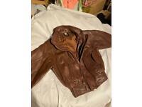 **REDUCED** Vintage Child's Leather Jacket