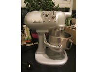 Hobart Food Mixer N50 5 Quart with whisk and paddle beater attachments