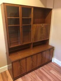 Sideboard/display/cupboard/drinks serving unit solid wood £30 ONO