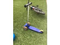 Micro scooter classic blue
