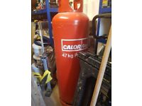 Gas Cannister Partially filled