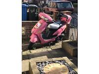 50cc pink mo ped 2011