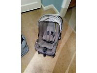 Nuna car seat with isofix