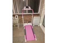 Pink Gymmaster Treadmill