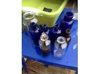 Rare medical bottles