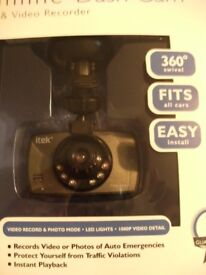 SLIMLINE DASH CAMERA (Brand New & Boxed)
