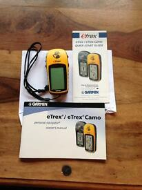 Garmin eTrex GPS hiking device