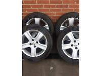 Cheap set of Peugeot 16in alloy wheels