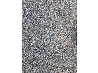 Harling chips roughcast cast stones pointing coating cement aggregates silver grey white skye marble